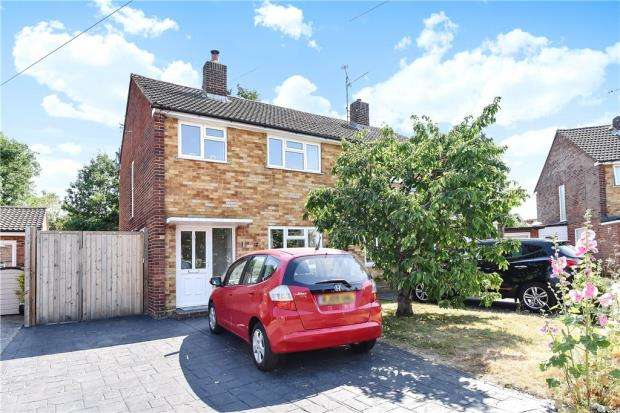 3 Bedrooms Semi Detached House for sale in Rochester Avenue, Woodley, Reading