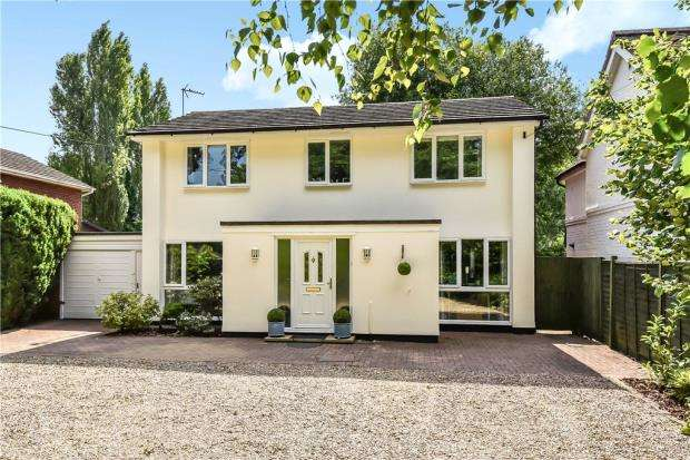 4 Bedrooms Detached House for sale in Reading Road, Finchampstead, Wokingham