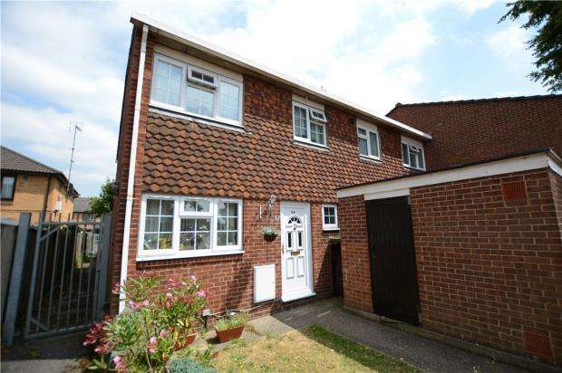 3 Bedrooms End Of Terrace House for sale in Grampian Way, Slough