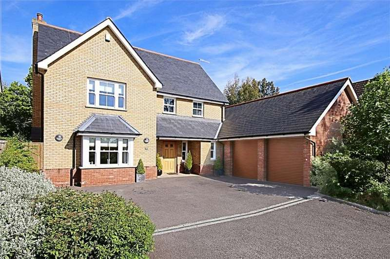 5 Bedrooms Detached House for sale in Dovedale, High Wych, Sawbridgeworth, Hertfordshire