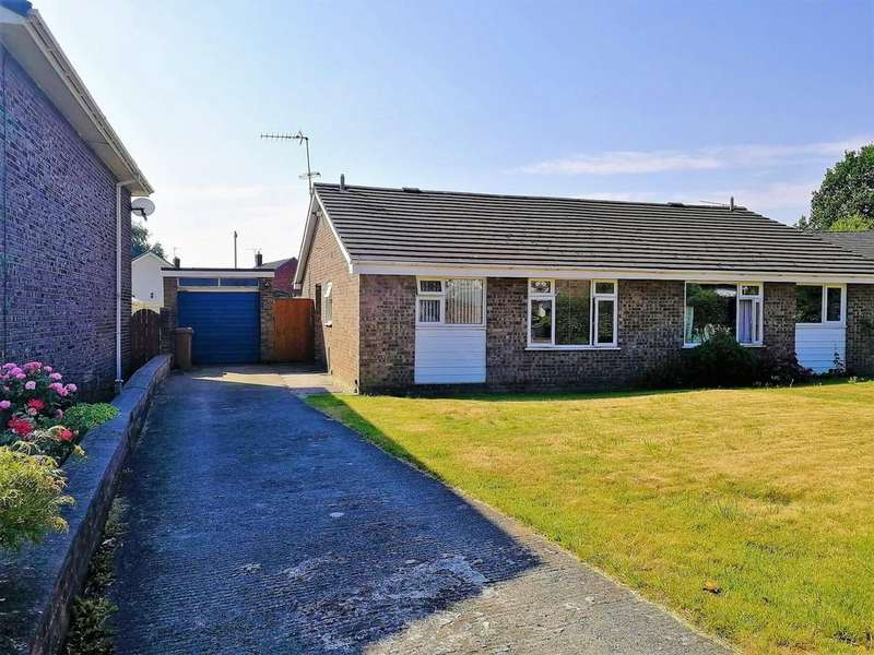 2 Bedrooms Semi Detached Bungalow for sale in Ash View, Aston Park, Queensferry