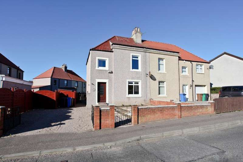 3 Bedrooms Semi Detached House for sale in Smith Road, Methilhill, Leven