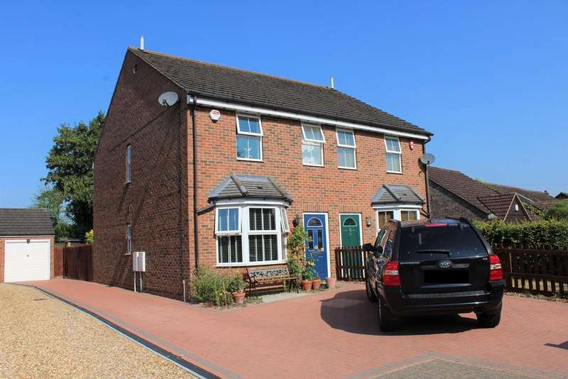 4 Bedrooms Semi Detached House for sale in Hitchin Road, Upper Caldecote, SG18