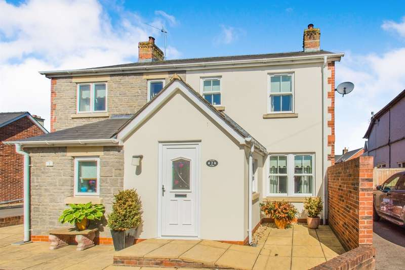 2 Bedrooms Semi Detached House for sale in Chapel Close, Raglan, Usk