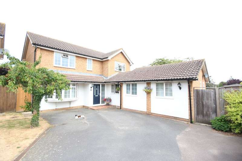 4 Bedrooms Detached House for sale in ALLINGTON
