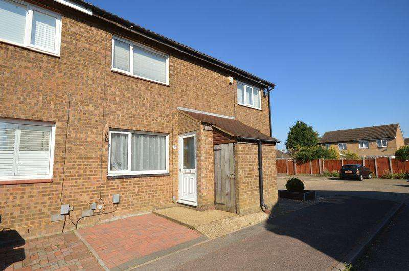2 Bedrooms Terraced House for sale in Cumbria Close, Houghton Regis