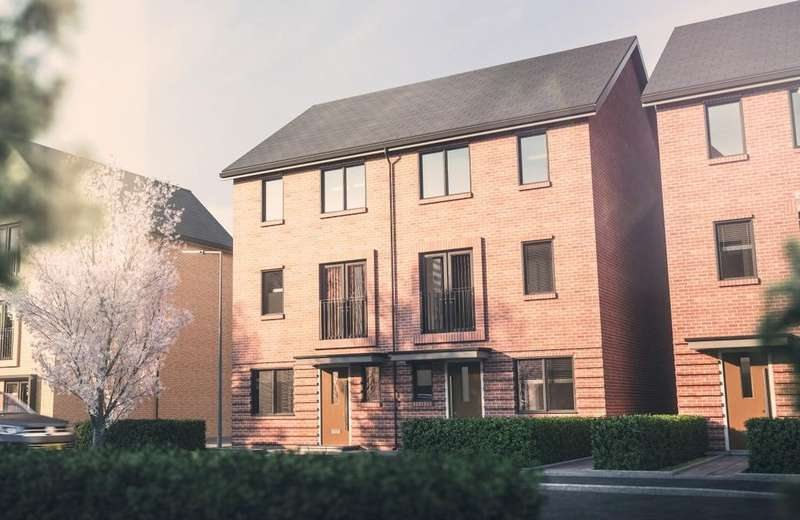 4 Bedrooms End Of Terrace House for sale in Imperial Way, Reading, RG2