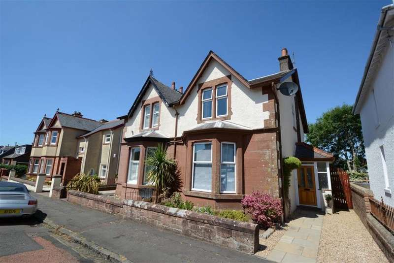 3 Bedrooms Semi Detached House for sale in 15 Lovat Street, Largs, KA30 9NE