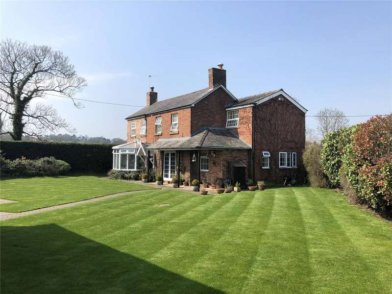 5 Bedrooms Detached House for sale in Croeshowell Lane, Burton, Wrexham, LL12