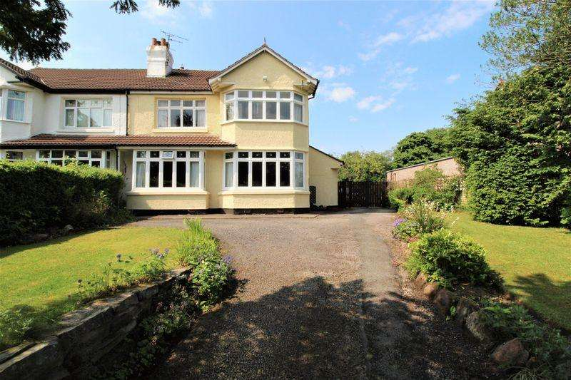 4 Bedrooms Semi Detached House for sale in Hooton Road, Willaston