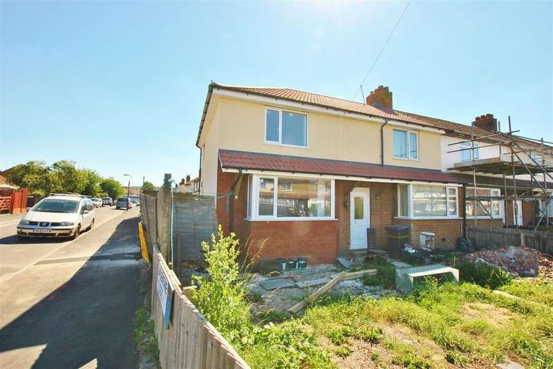 2 Bedrooms End Of Terrace House for sale in Gilda Crescent, Whitchurch, Bristol