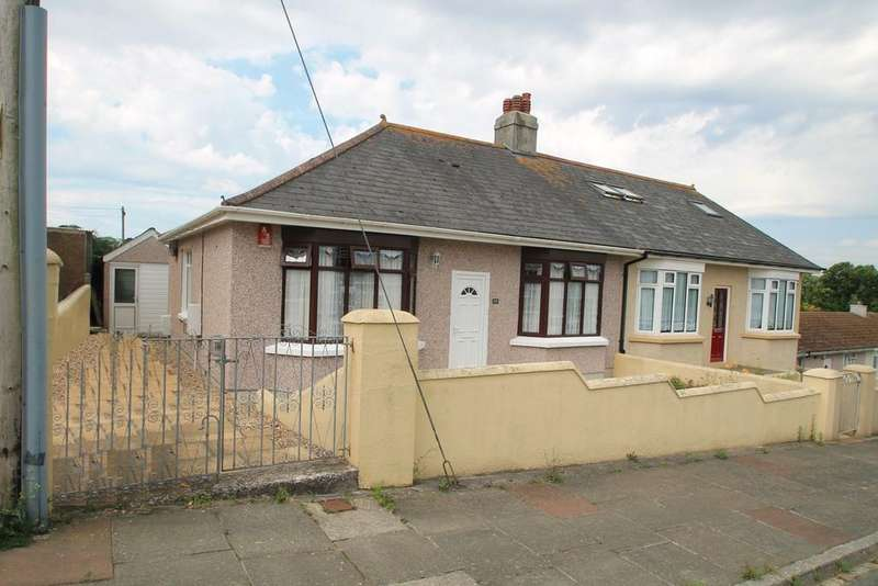 3 Bedrooms Semi Detached Bungalow for sale in Ernesettle Crescent, Plymouth