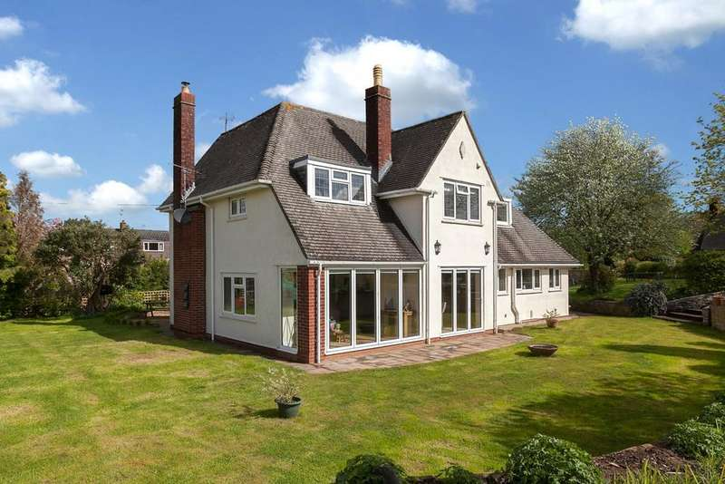 4 Bedrooms Detached House for sale in Haw Lane, Olveston, Bristol, BS35