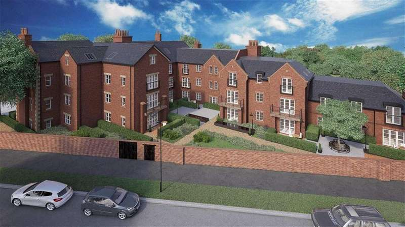 2 Bedrooms Retirement Property for sale in 25 Henley Hall, Kenilworth Place, Leamington Spa, CV32