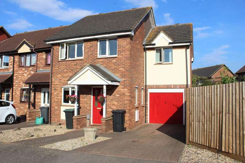 4 Bedrooms End Of Terrace House for sale in Starling Close, Sandy, SG19