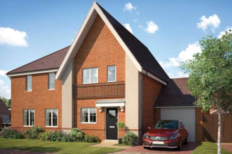 3 Bedrooms Semi Detached House for sale in Chapman Drive, Binfield