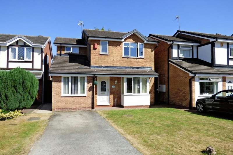4 Bedrooms Detached House for sale in Burnside Close, Stenson Fields