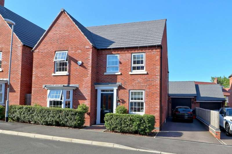 4 Bedrooms Detached House for sale in Flora Grove, Ashby-de-la-Zouch