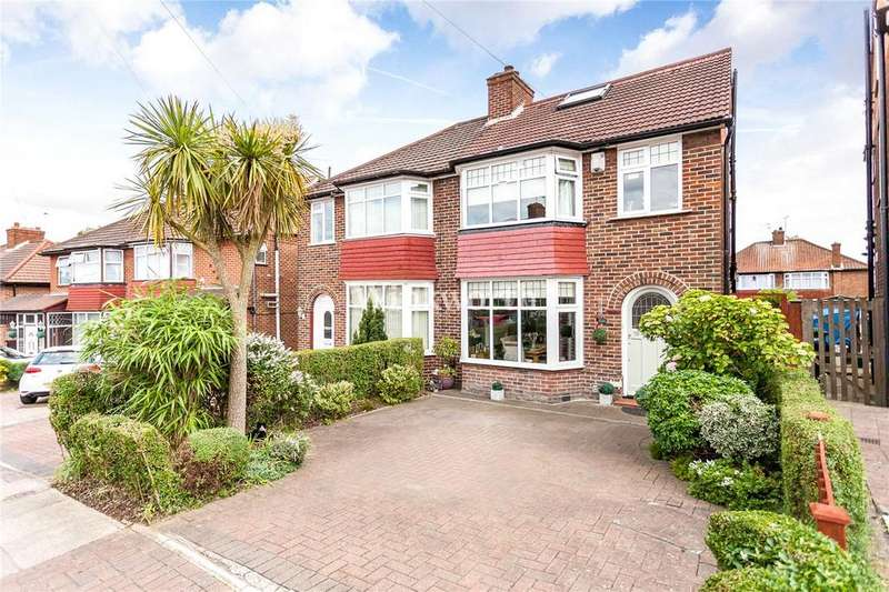4 Bedrooms Semi Detached House for sale in Crummock Gardens, London, NW9