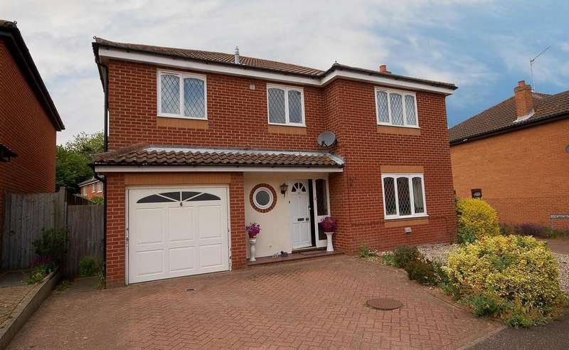 4 Bedrooms Detached House for sale in Campion Way, Sheringham