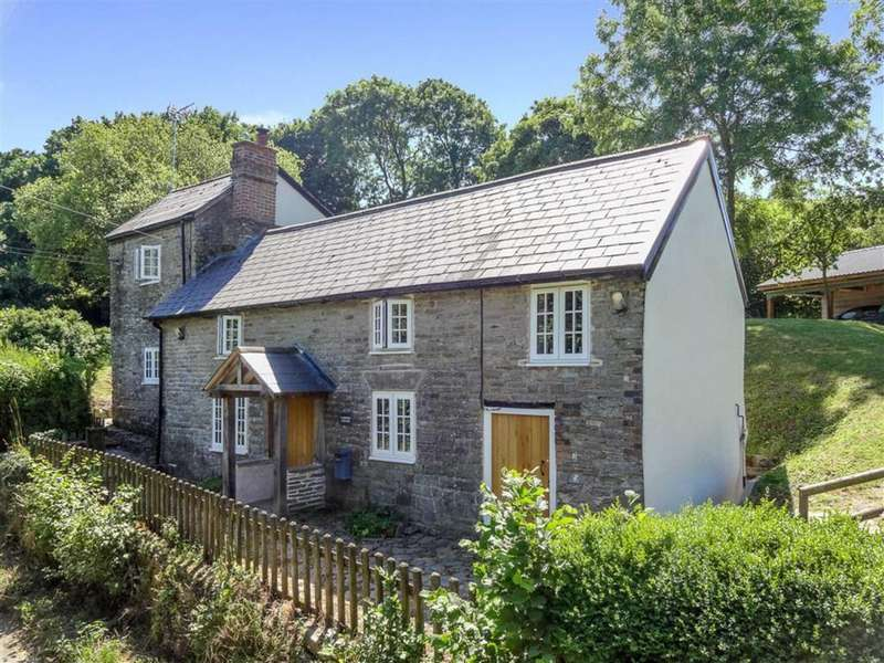 3 Bedrooms Detached House for sale in Obley, Nr Bucknell
