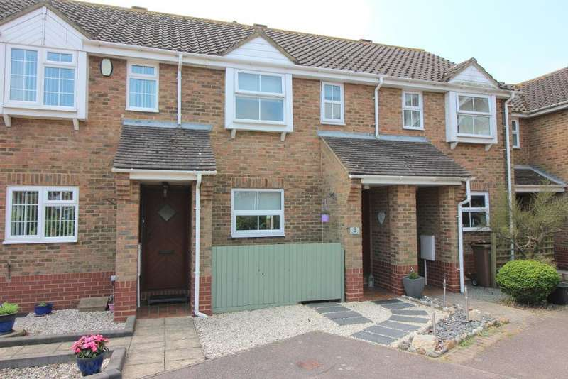2 Bedrooms Terraced House for sale in Edkins Close, Luton, Bedfordshire, LU2 7SS