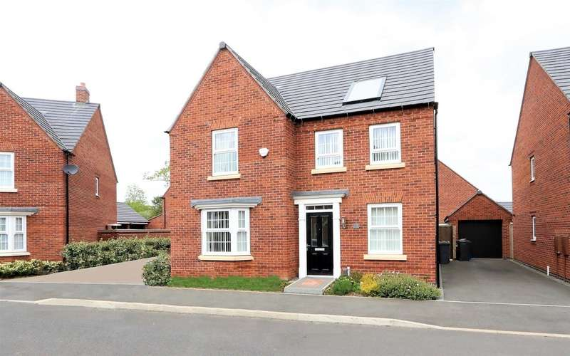 4 Bedrooms Property for sale in Holland Crescent, Ashby-De-La-Zouch, ...