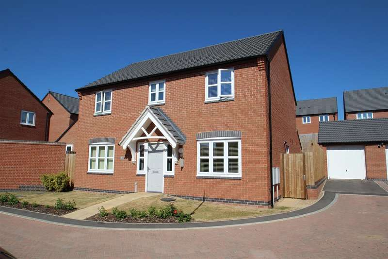 4 Bedrooms Property for sale in Sharpe Way, Sileby, Loughborough