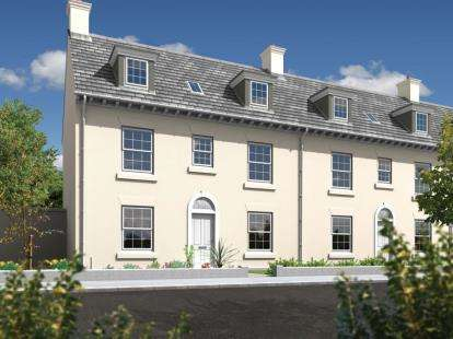4 Bedrooms Semi Detached House for sale in Nansledan, Newquay