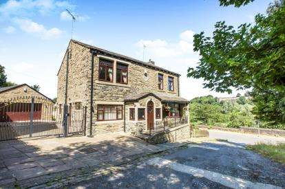 5 Bedrooms Detached House for sale in Stoney Hill, Rastrick, West Yorkshire