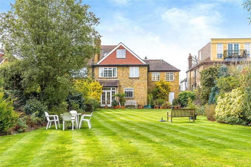 6 Bedrooms Semi Detached House for sale in Ferry Road, Barnes, SW13