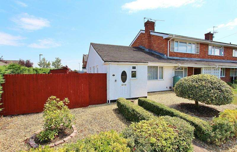 2 Bedrooms Bungalow for sale in Cherry Tree Close, Keynsham, Bristol