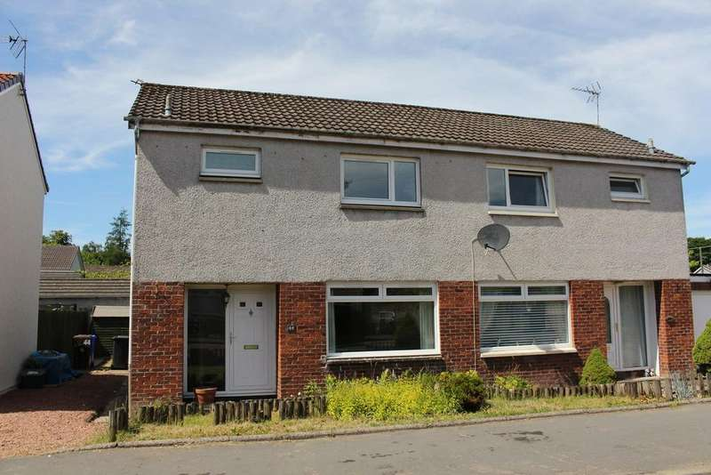 3 Bedrooms Semi Detached House for sale in Ochiltree, Dunblane, FK15