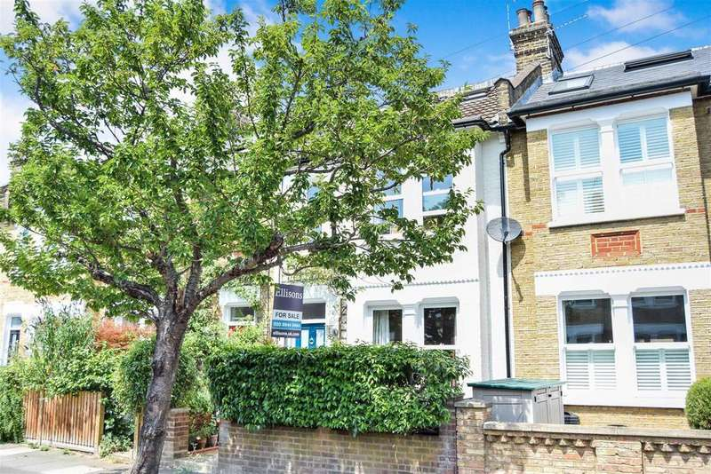 3 Bedrooms Terraced House for sale in Clarence Road, Wimbledon