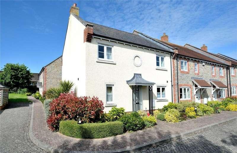 3 Bedrooms End Of Terrace House for sale in Stapleford Court, Stalbridge, Sturminster Newton, Dorset