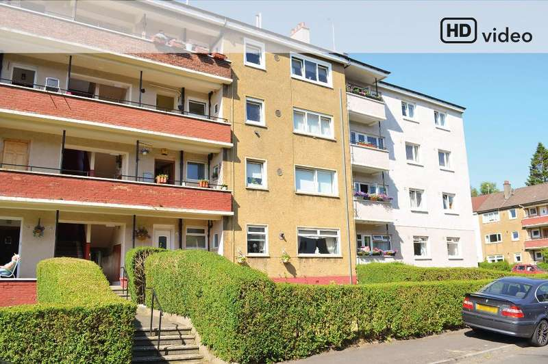 2 Bedrooms Flat for sale in Cherrybank Road, Merrylee, Glasgow, G43 2NQ
