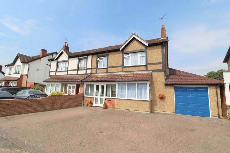 4 Bedrooms Semi Detached House for sale in Fordbridge Road, Ashford, TW15
