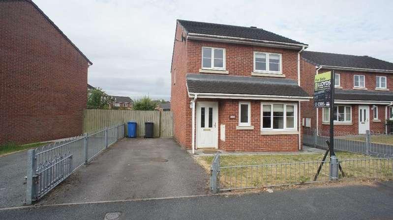 3 Bedrooms Detached House for sale in Blenheim Close, Padgate, Warrington