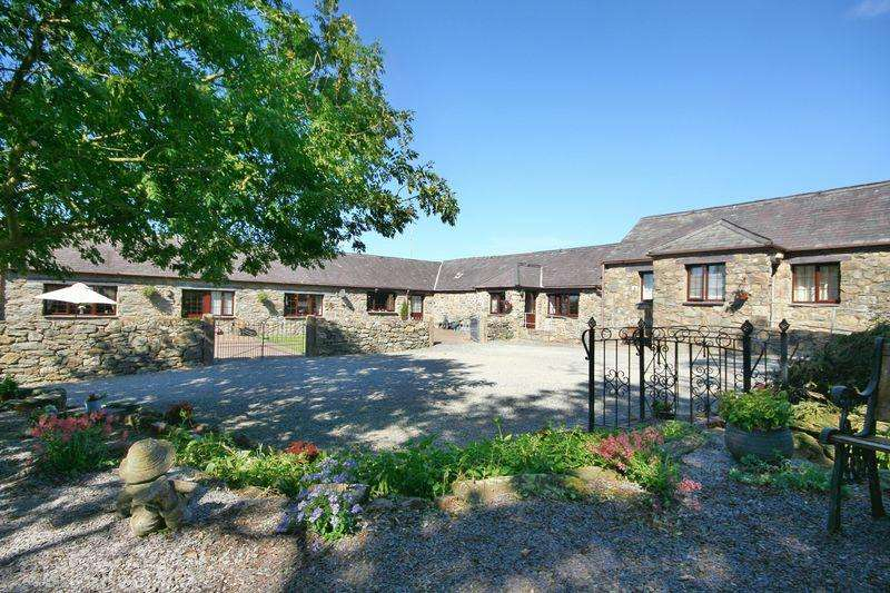 4 Bedrooms Detached House for sale in House, six cottages and land in Star, Gaerwen, Anglesey