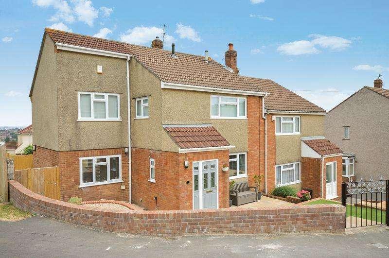 4 Bedrooms Semi Detached House for sale in Greenridge Close, Bristol