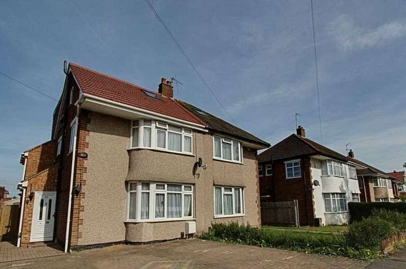 5 Bedrooms Semi Detached House for sale in Warley Avenue, Hayes