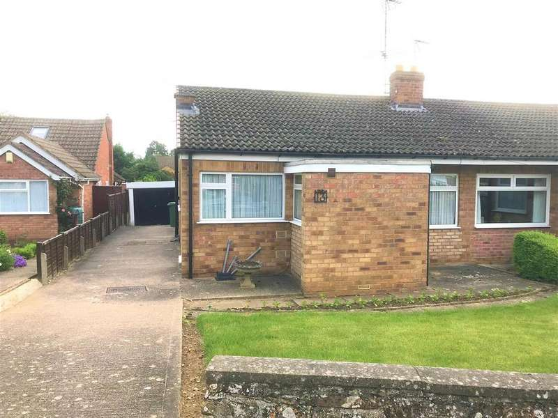 3 Bedrooms Semi Detached Bungalow for sale in Logan Crescent, Market Harborough