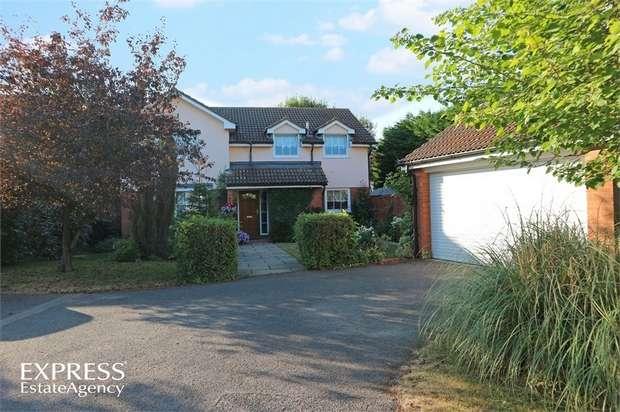 5 Bedrooms Detached House for sale in Elsmore Close, Aylesbury, Buckinghamshire