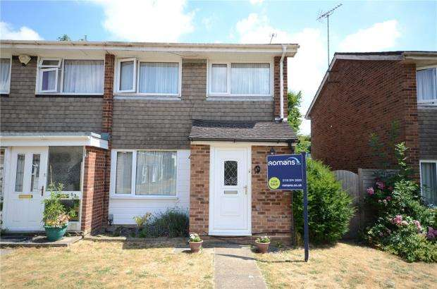 3 Bedrooms Semi Detached House for sale in Blagrove Drive, Wokingham, Berkshire