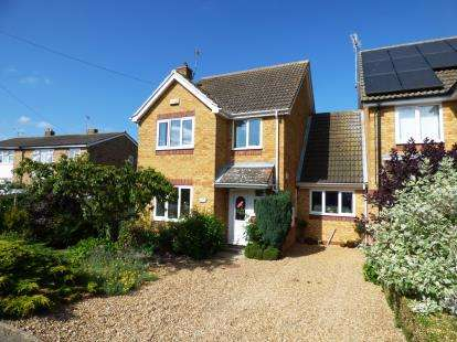 4 Bedrooms Link Detached House for sale in Oilmills Road, Ramsey Mereside, Ramsey, Huntingdon