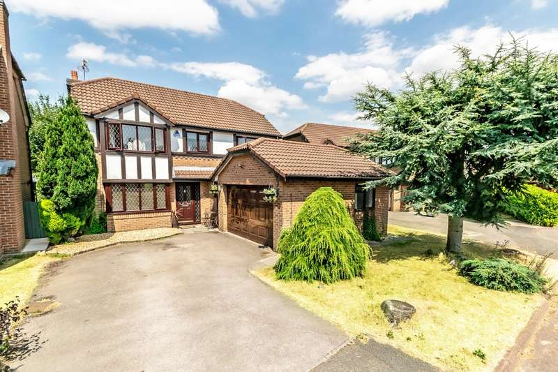 4 Bedrooms Detached House for sale in Edward Gardens, Woolston