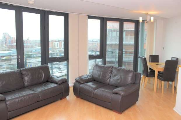 2 Bedrooms Apartment Flat for sale in City South City South, 39 City Road East, Manchester, M15