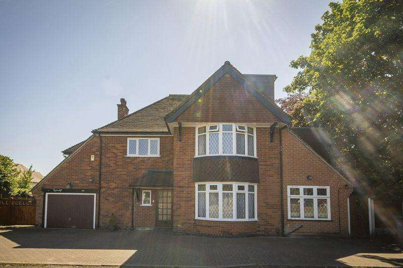 6 Bedrooms Detached House for sale in MANOR ROAD, LITTLEOVER