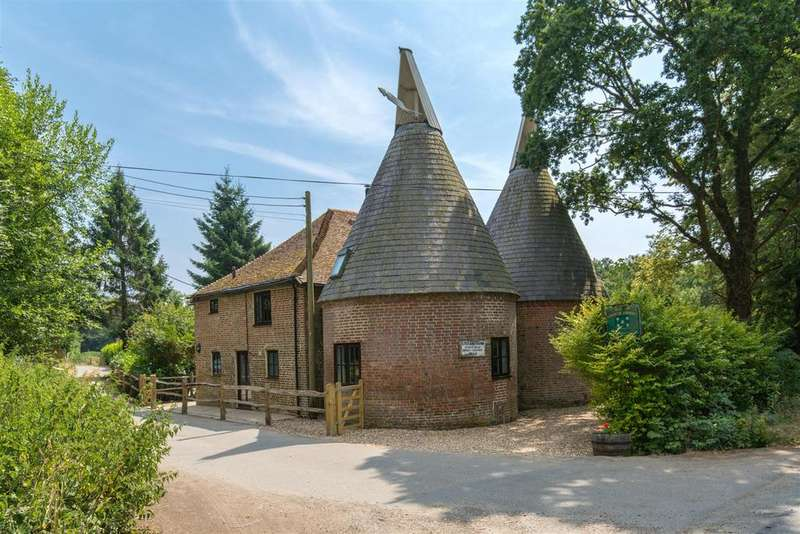 4 Bedrooms Detached House for sale in Chiddingly, Lewes