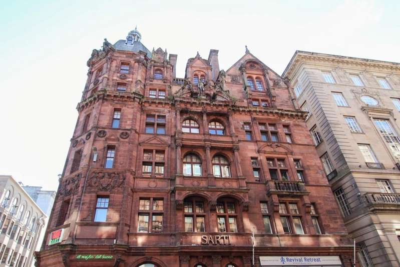 2 Bedrooms Flat for sale in West George Street, Glasgow
